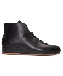 Feit | Leather High-Top Sneakers