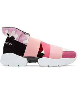 Emilio Pucci   Colorblock Slip-On Sneakers