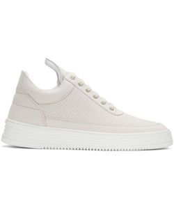 Filling Pieces | Perforated Tone Sneakers