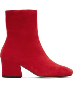 DORATEYMUR | Suede Sybil Leek Boots