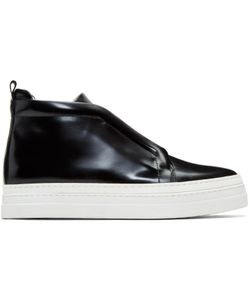 Pierre Hardy | Patent Slider 2 High-Top Sneakers