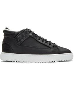 ETQ AMSTERDAM | Croc-Embossed Mid 2 Sneakers
