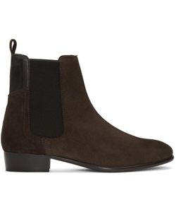 H By Hudson | Suede Watts Chelsea Boots