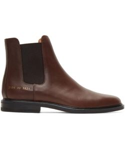 Common Projects | Leather Chelsea Boots