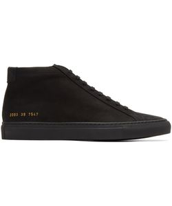 Common Projects | Nubuck Original Achilles Mid Sneakers