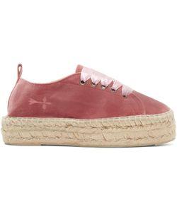 Manebí   Velvet Hamptons Sneaker Espadrilles