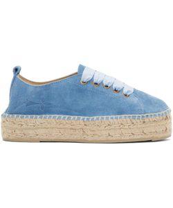Manebí   Suede Hamptons Sneaker Espadrilles