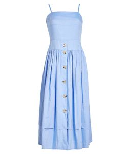 REJINA PYO | Chambray Midi Dress Gr. Uk 10