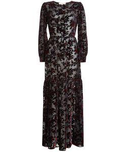 Marina Hoermanseder   Floor Length Gown With Silk And Velvet Gr. De 34