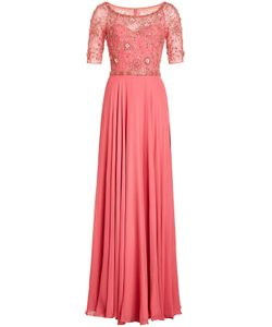Jenny Packham | Embellished Silk Gown Gr. Uk 8