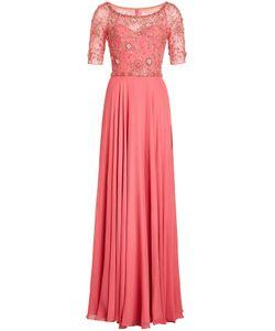 Jenny Packham | Embellished Silk Gown Gr. Uk 8