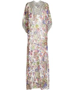 Roberto Cavalli | Printed Silk Dress Gr. It 40