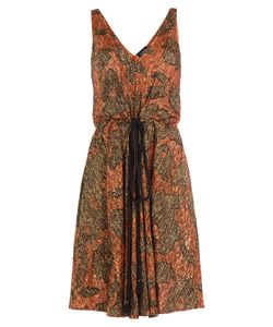 Lanvin | Embroidered Dress With Silk Gr. Fr 38