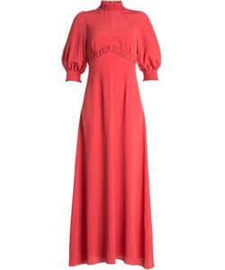 Emilia Wickstead | Maxi Dress With Silk Gr. Uk 12