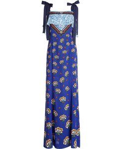 Mary Katrantzou   Printed Cold Shoulder Dress Gr. Uk 8
