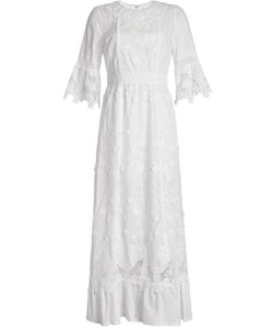 Anna Sui | Embroidered Dress With Silk Gr. Us 6
