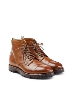 Officine Creative | Leather Ankle Boots Gr. Eu 40