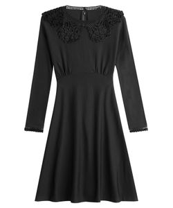 Marc Jacobs | Wool Dress With Crochet Details Gr. M