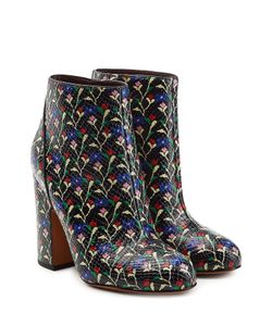 Marc Jacobs | Printed Leather Ankle Boots Gr. It 375