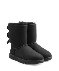 UGG Australia | Short Bailey Bow Suede Boots Gr. Us 7