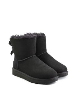 UGG Australia | Mini Bailey Bow Suede Boots Gr. Us 10