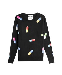 Moschino | Printed Pullover Gr. M