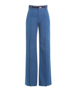 Marc Jacobs | Wide Leg Jeans With Contrast Thread Gr. Us 0