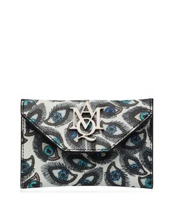 Alexander McQueen | Printed Leather Card Holder Gr. One Size