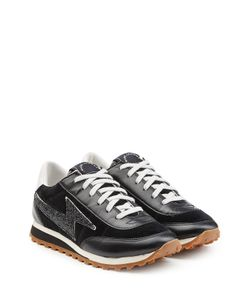 Marc Jacobs | Velvet And Leather Sneakers Gr. It 39