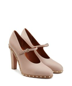 Valentino | Soul Rockstud Embellished Leather Pumps Gr. It 36