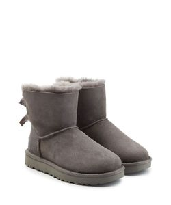 UGG Australia | Mini Bailey Bow Suede Boots Gr. Us 6