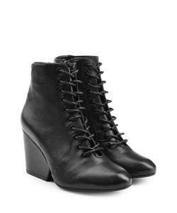 Robert Clergerie | Lace-Up Leather Boots Gr. Fr 36