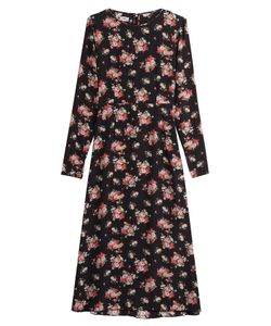 Warm | Printed Silk Dress Gr. 2