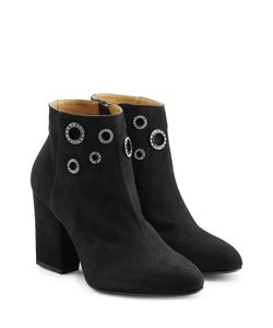 Sonia Rykiel | Embellished Suede Ankle Boots Gr. Eu 38