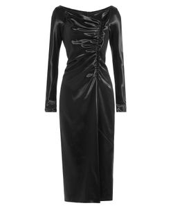 Marc Jacobs | Satin Dress With Gathered Detail Gr. Us 0