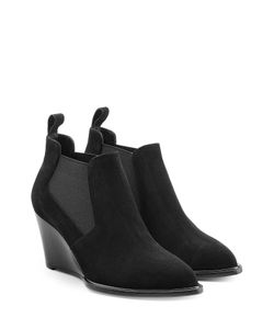 Robert Clergerie | Suede Ankle Boots Gr. Fr 36