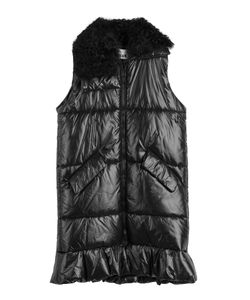 MSGM | Quilted Vest With Shearling Collar Gr. It 38