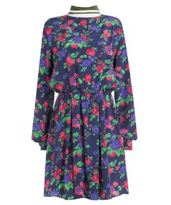 MSGM | Printed Silk Dress Gr. It 38