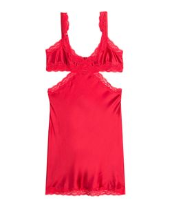 Stella Mccartney | Silk Chemise With Lace Gr. S