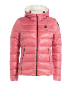 Blauer | Quilted Down Jacket With Hood Gr. S