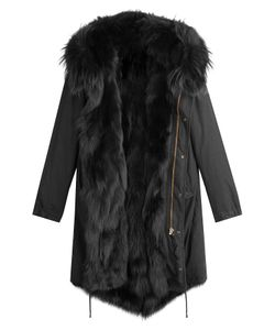 BARBED | Cotton Parka With Fox Fur Lining Gr. M