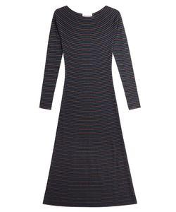 Sonia Rykiel | Striped Dress With Thread Gr. S