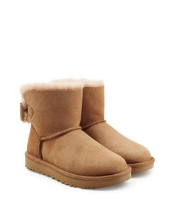 UGG Australia | Mini Bailey Bow Suede Boots Gr. Us 11
