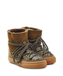INUIKII   Sequin And Suede Ikkii Low Sneakers Gr. Eu 40