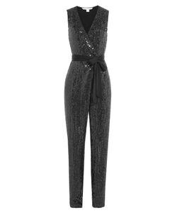 Diane Von Furstenberg | Sequined Silk Jumpsuit Gr. Us 8
