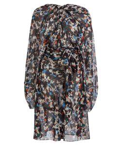 Maison Margiela | Printed Silk Chiffon Dress Gr. It 40