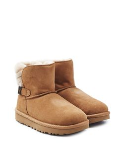 UGG Australia | Fur Lined Suede Boots With Buckle Gr. Us 9