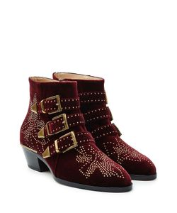Chloe | Studded Susanna Suede Ankle Boots Gr. It 385