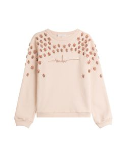 Marina Hoermanseder   Embellished Cotton Sweatshirt Gr. De 36