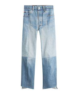 VETEMENTS   Straight Leg Patchwork Jeans Gr. S